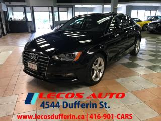 Used 2015 Audi A3 2.0T Progressiv for sale in North York, ON