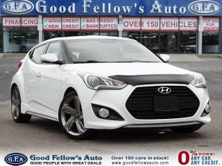 Used 2015 Hyundai Veloster TURBO, PANORAMIC ROOF, NAVIGATION, REARVIEW CAMERA for sale in Toronto, ON