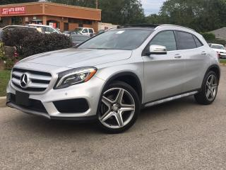 Used 2015 Mercedes-Benz GLA GLA 250 4MATIC-AMG-NAVI-ROOF-HEATED-NO ACCIDENTS for sale in Mississauga, ON