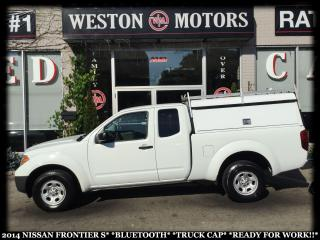 Used 2014 Nissan Frontier S*BLUETOOTH*TRUCK CAP*READY FOR WORK!!* for sale in Toronto, ON