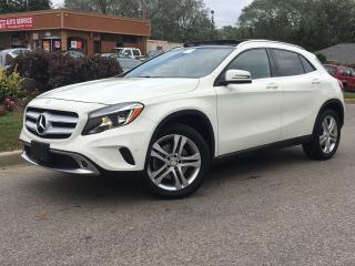 Used 2015 Mercedes-Benz GLA GLA250 4MATIC-NAVI-ROOF-HEATED-NO ACCIDENTS for sale in Mississauga, ON
