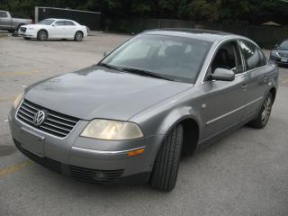 Used 2001 Volkswagen Passat GLS for sale in Scarborough, ON