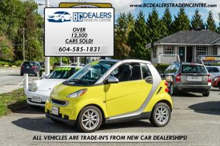 Used 2008 Smart fortwo cabriolet Passion, Local, No Accidents, Only 70,000 km's! for sale in Surrey, BC