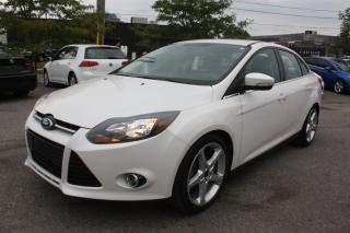 Used 2014 Ford Focus TITANIUM PACKAGE | NAVI | SUNROOF | BACKUP CAMERA for sale in Toronto, ON