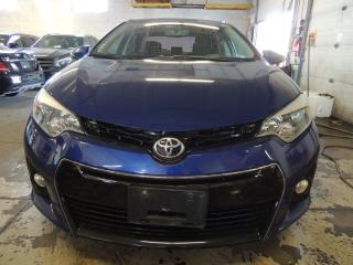 Used 2014 Toyota Corolla S, LEATHER, BACK UP CAMERA, SUNROOF for sale in Mississauga, ON