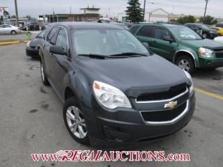 Used 2010 Chevrolet EQUINOX LS 4D UTILITY 2WD for sale in Calgary, AB
