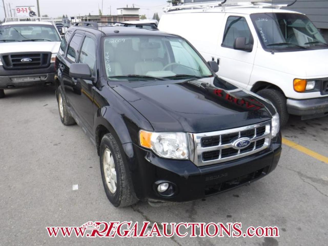 Photo of Black 2009 Ford ESCAPE XLT 4D