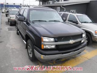 Used 2004 Chevrolet AVALANCHE  4D UTILITY for sale in Calgary, AB