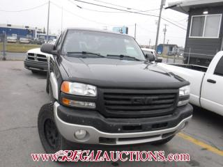 Used 2005 GMC SIERRA 1500 SLT EXT CAB 4WD for sale in Calgary, AB