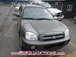 Used 2005 Hyundai SANTA FE  4D UTILITY AWD for sale in Calgary, AB