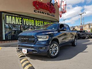Used 2019 RAM 1500 SPORT CREW CAB H-TED WHEEL LEVEL 2 EQUIP for sale in Toronto, ON