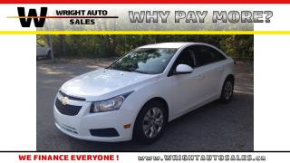 Used 2014 Chevrolet Cruze 1LT|LOW MILEAGE|BLUETOOTH|46,165 KMS for sale in Cambridge, ON