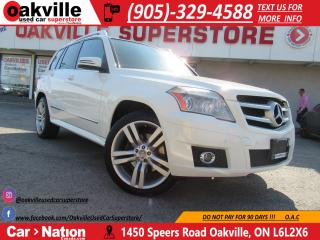 Used 2011 Mercedes-Benz GLK-Class GLK350 4MATIC | LEATHER | PANOROOF | BLUETOOTH for sale in Oakville, ON