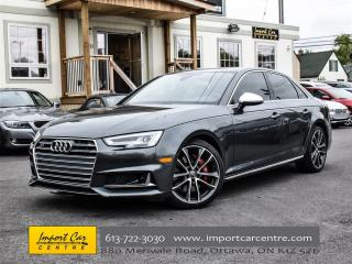 Used 2018 Audi S4 Technik WOW!!  SPORT DIFF, ADVANCED DRIVERS PKG for sale in Ottawa, ON
