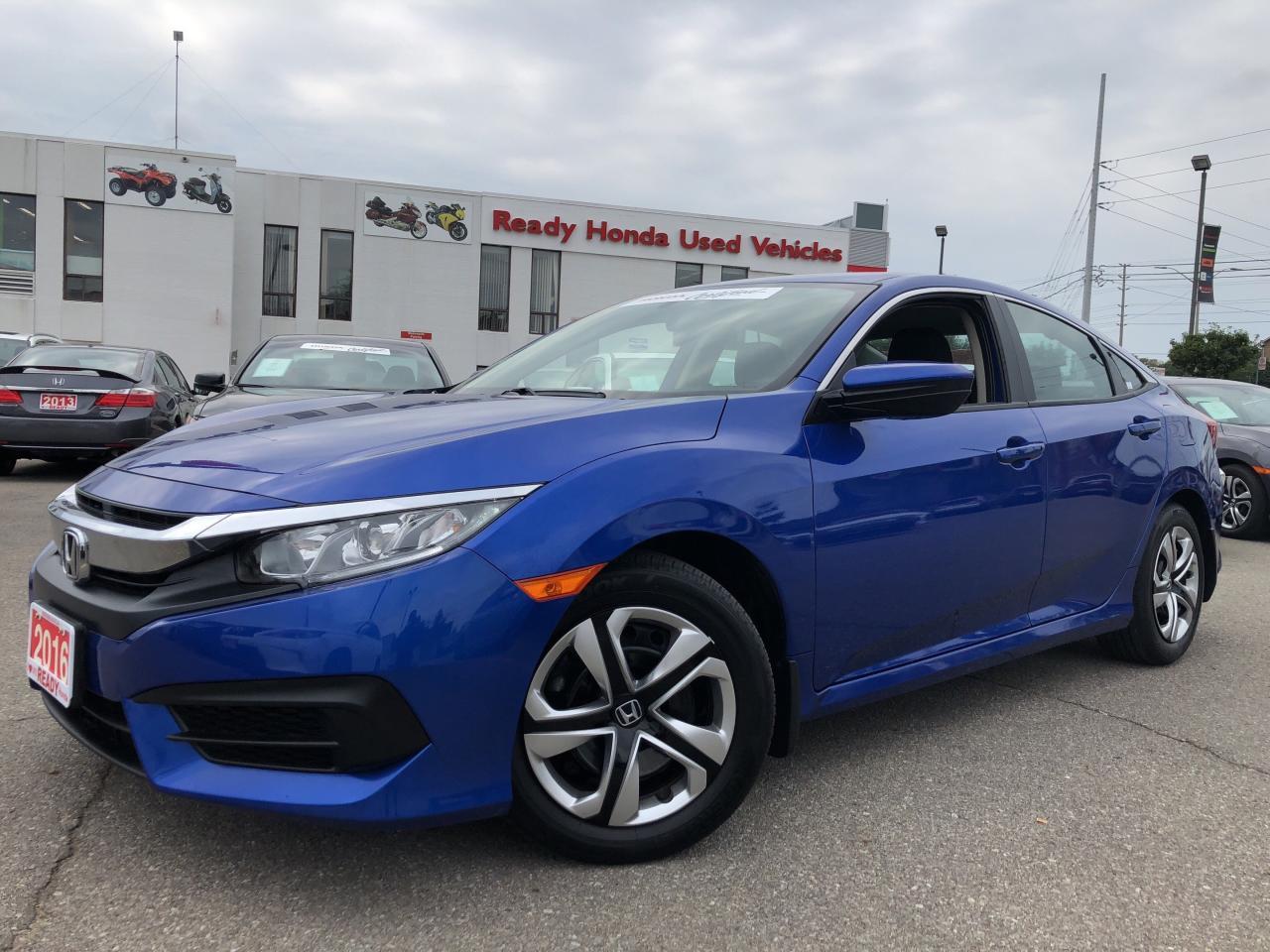 2016 Honda Civic Sedan LX - Bluetooth - Rear Camera - Heated Seats