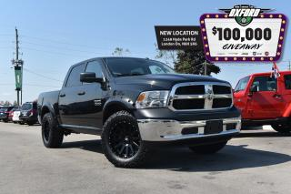 Used 2018 RAM 1500 ST - off road custom build, lift/level kit, tires for sale in London, ON