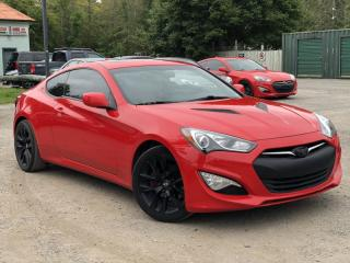Used 2013 Hyundai Genesis Coupe No-Accidents 2.0T 6-Speed Manual Navi Leather Sunroof for sale in Holland Landing, ON