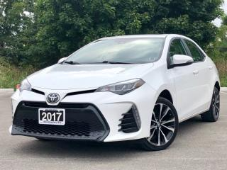 Used 2017 Toyota Corolla SE|Leather|Back Up Cam|Lane Departure|Accident Free for sale in Mississauga, ON
