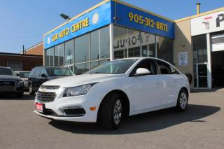 Used 2016 Chevrolet Cruze 1LT Auto | BACKUP CAMERA | BLUETOOTH | TURBO | for sale in Hamilton, ON