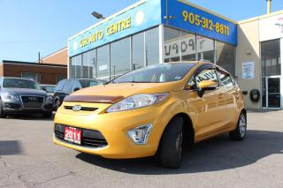 Used 2011 Ford Fiesta SES Hatchback | BLUETOOTH | LEATHER | HEATED SEATS | PUSH START for sale in Hamilton, ON