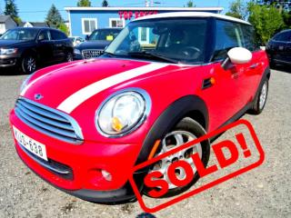 Used 2012 MINI Cooper HARDTOP/LEATHER/PANO/CERTIFIED for sale in Guelph, ON