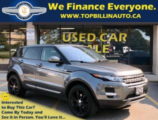 Used 2015 Land Rover Evoque Pure Plus, Navigation, Sky Roof, 43K kms for sale in Vaughan, ON