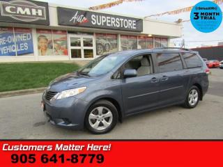 Used 2014 Toyota Sienna LE  CAM PWR-SLIDERS HS BT 8-PASS REAR-AC HOME-REMOTE 17 -AL for sale in St. Catharines, ON