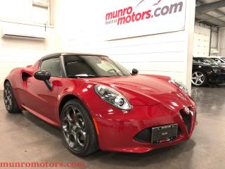 Used 2015 Alfa Romeo 4C Coupe Carbon Fiber, Dual Mode Race  Exhaust, Bi Zenon for sale in St. George Brant, ON