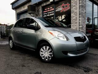 Used 2008 Toyota Yaris Hayon 5 portes, boîte manuelle, LE AIR C for sale in Longueuil, QC