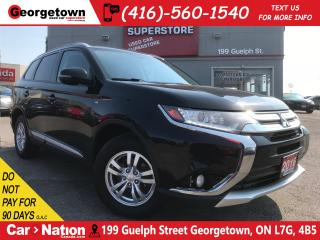 Used 2016 Mitsubishi Outlander SE | 4X4 | HEATED SEATS | 7 PASS | for sale in Georgetown, ON
