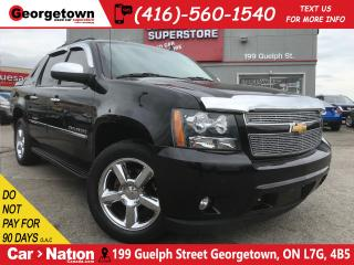 Used 2013 Chevrolet Avalanche LTZ Black Diamond | LOADED | NAV | DVD | CAM for sale in Georgetown, ON
