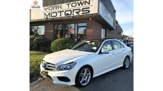 Used 2014 Mercedes-Benz E-Class E350|4MATIC|16,000KM|SPORT PCK|NAV|PANOROOF for sale in North York, ON
