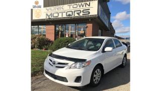 Used 2013 Toyota Corolla CE (A4) | NO ACCIDENT | HEATED SEATS | ONE OWNER for sale in North York, ON