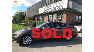 Used 2014 Infiniti Q50 Premium|TOUR\TECH & DRIVER ASSIST|NAV|BACK-UP for sale in North York, ON