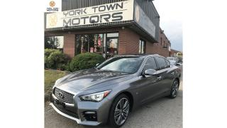 Used 2014 Infiniti Q50 Sport| NAV | BACK-UP CAM| NO ACCIDENTS for sale in North York, ON