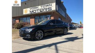 Used 2015 Infiniti Q50 LIMITED ED W/Drive Assist|NAV|BACKUP CAM|ONLY 48k! for sale in North York, ON
