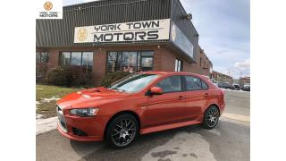 Used 2011 Mitsubishi Lancer Sportback RALLIART|DUALCLUTCH|NAV|AWC|SPORTBACK for sale in North York, ON