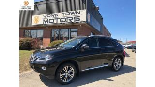 Used 2013 Lexus RX 350 ULTRAPREMIUM PKG|W/DVDPLAYER|ACCIDENT FREE|FSPORT for sale in North York, ON