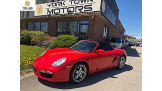 Used 2005 Porsche Boxster ACCIDENT FREE | RARE MANUAL | SAFETY INCLUDED! for sale in North York, ON