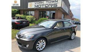 Used 2010 Lexus IS 250 NO ACCIDENT | AWD!!!| LOW KM|  BEIGE INTERIOR | for sale in North York, ON