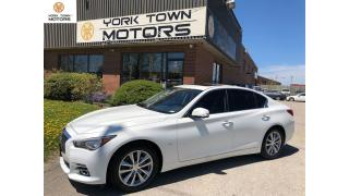 Used 2014 Infiniti Q50 ACCIDENTFREE|TECHPACK|NAVI|BACKCAM|ONEOWNER for sale in North York, ON