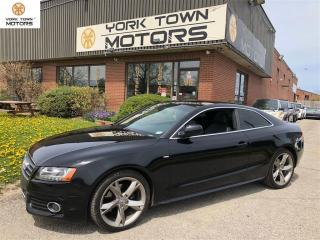 Used 2010 Audi A5 S-LINE|NOACCIDENT|NAV|BACKUP CAM|SUNROOF! for sale in North York, ON