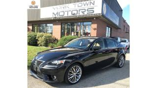 Used 2014 Lexus IS 250 NOACCIDENT|NAV|BACK-UP CAM|HEATED+ COOLING SEATS! for sale in North York, ON