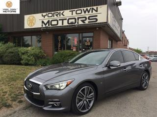 Used 2015 Infiniti Q50 3.7 Limited/ONEOWNER/ACCIDENT FREE for sale in North York, ON