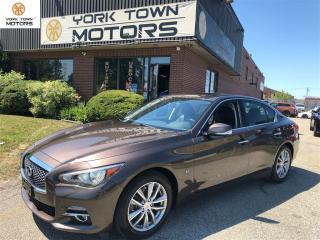 Used 2014 Infiniti Q50 Tour W/DriverAssist|TECH PKG!!!NOACCIDENT! for sale in North York, ON