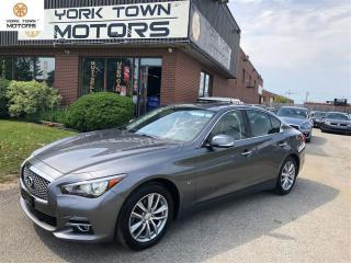 Used 2014 Infiniti Q50 NO ACCIDENT|TECHPACK|NAV|BACK UP CAM|DRVRASSIST! for sale in North York, ON