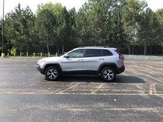 Used 2018 Jeep Cherokee Trailhawk 4X4 for sale in Cayuga, ON