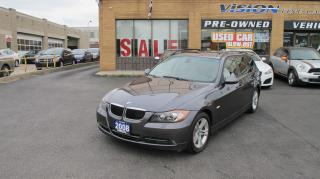 Used 2008 BMW 328 xi/PANORAMIC SUNROOF for sale in North York, ON