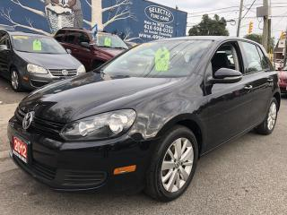 Used 2012 Volkswagen Golf COMFORTLINE for sale in Toronto, ON