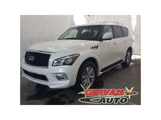 Used 2017 Infiniti QX80 Awd Cuir T.ouvrant for sale in Trois-rivières, QC